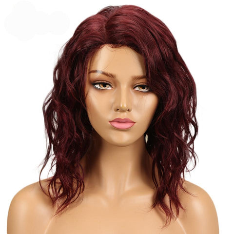 Image of Elisa Lace Part Human Hair Wig - SilkyHairShop.com
