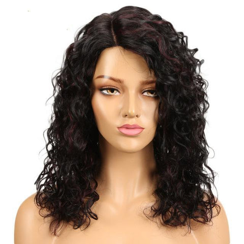 Image of Cherelle Lace Part Human Hair Wig - SilkyHairShop.com
