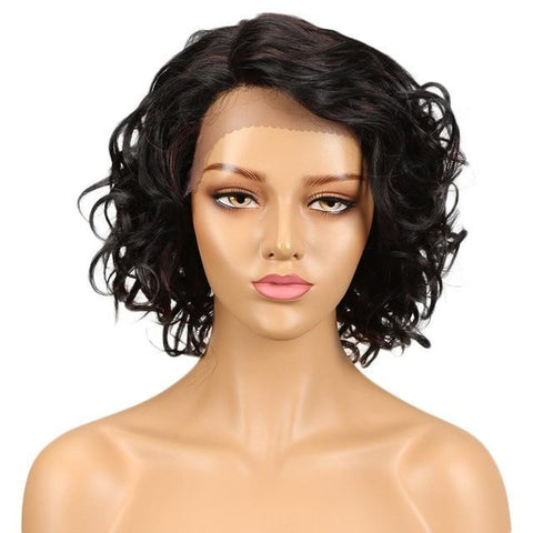 Rochelle Lace Front Human Hair Wig - SilkyHairShop.com