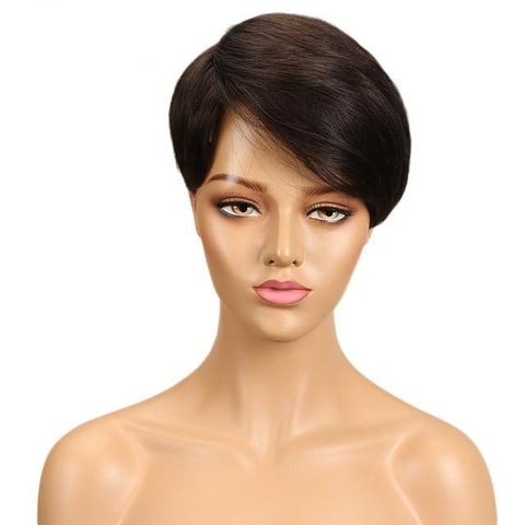 Image of Laney Human Hair Wig - SilkyHairShop.com