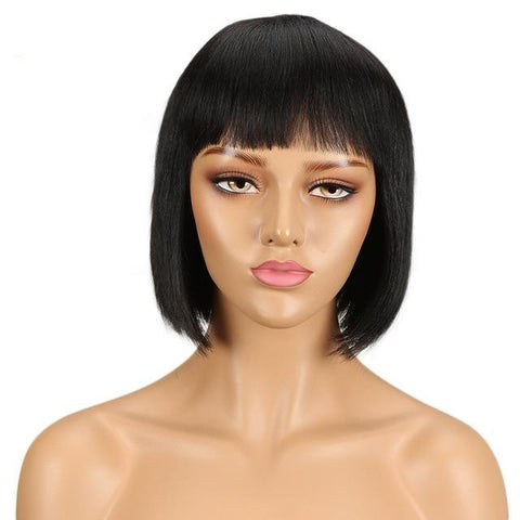 Image of DeeDee Human Hair Wig - SilkyHairShop.com