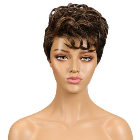 Bette Mohawk Human Hair Wig - SilkyHairShop.com
