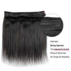 Brazilian Virgin Straight Hair 1pc.