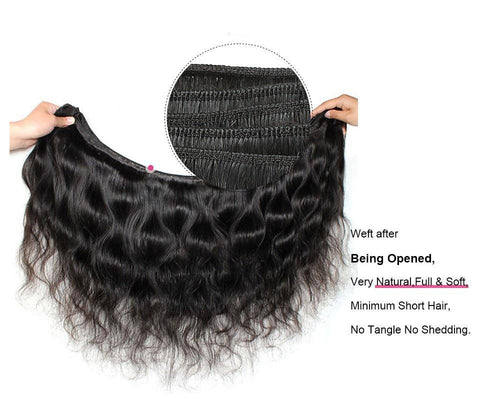 Image of Malaysian Virgin Body Wave Hair 1, 3 or 4 pc. - SilkyHairShop.com