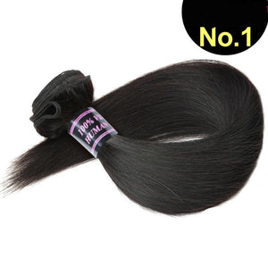 Brazilian Virgin Straight Hair 1pc. - SilkyHairShop.com