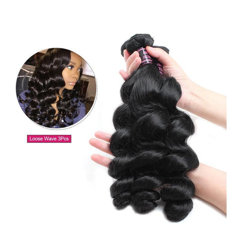 Image of Brazilian Virgin Loose Wave - 1pc. - SilkyHairShop.com