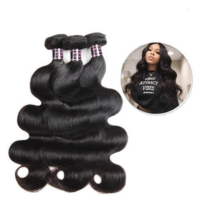 Malaysian Virgin Body Wave Hair 1, 3 or 4 pc. - SilkyHairShop.com