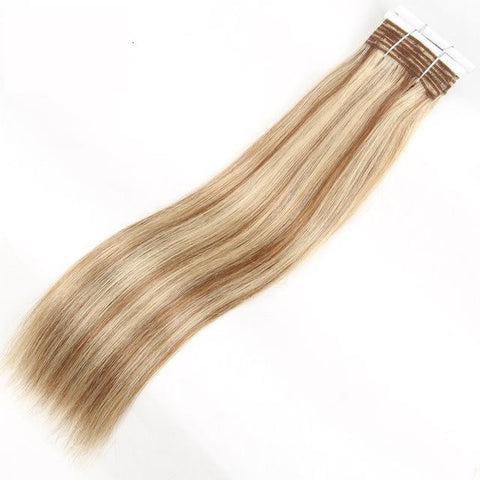 Image of Brazilian Straight Pre-Colored Wefts - Many Colors - SilkyHairShop.com