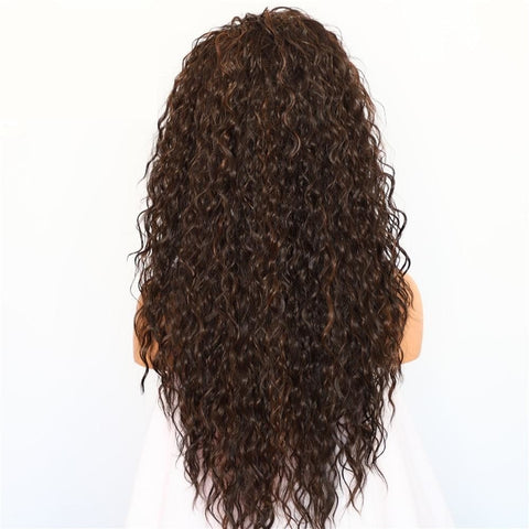 Image of Raven Lace Front Wig - SilkyHairShop.com