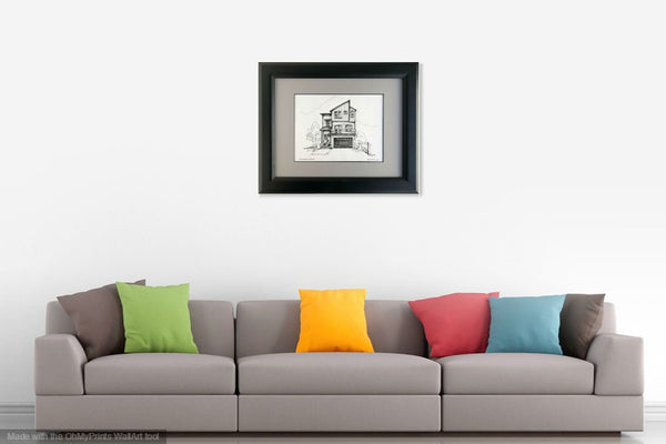 House Portrait - Pen And Ink Sketches | Bespoke Gifts