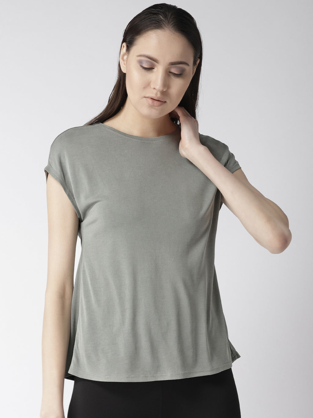 Fitkin Relaxed Fit Yoga Back Tie Top