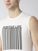 Mens Slogan Print Tank Top