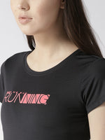 Fitkin Round Neck Quick Dry Slim Fit Running T-shirt