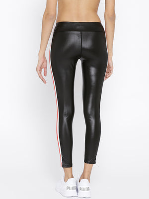 Satin Workout Leggings