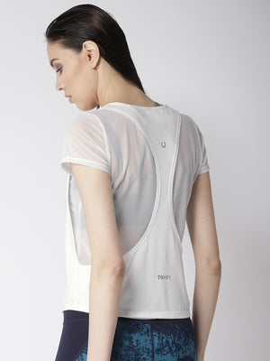 Fitkin Athleisure Layered Gym Top