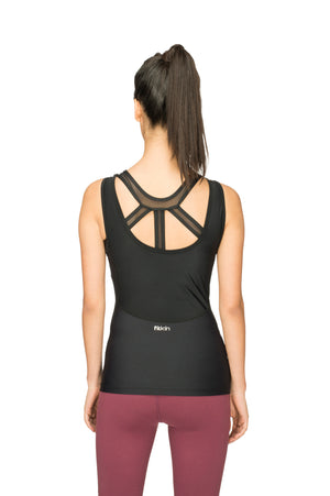 Fitkin Women Compression Gym Tank Top