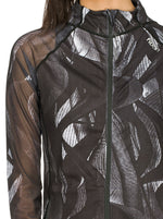 Fitkin Sport Print Lightweight Gym Jacket