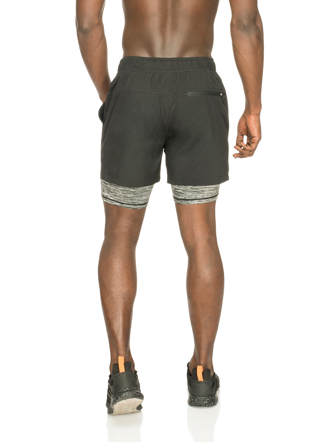 Men Double layer running shorts