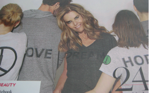 CHLA: Message T-shirt (unisex -- Love. Hope. Dream. Truth.)