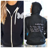 Olivia Munn Heart Hoodie Butterfly Effect Charity