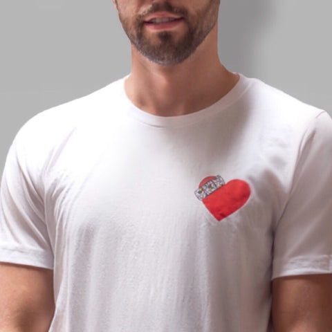 CHLA: Mended Heart Tee -- Project360 x ArtMobb x Califawnia (Unisex)