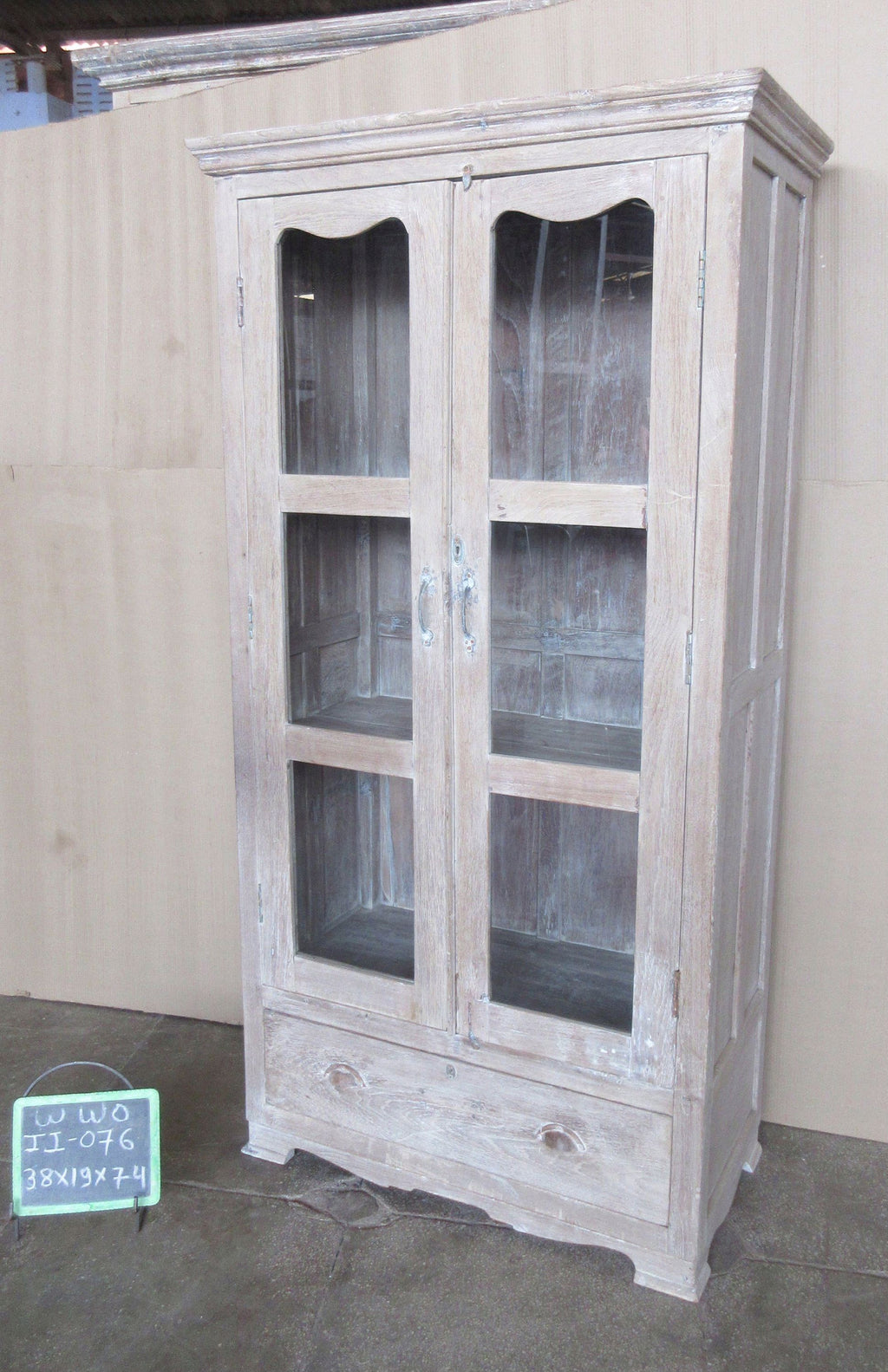 Vintage Wooden Showcase