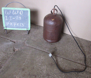 IRON LAMP WITH ELECTRIC WIRING