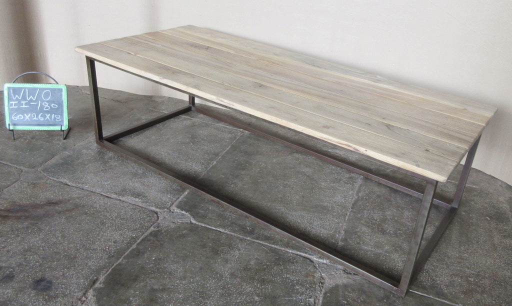IRON+WOODEN COFFEE TABLE
