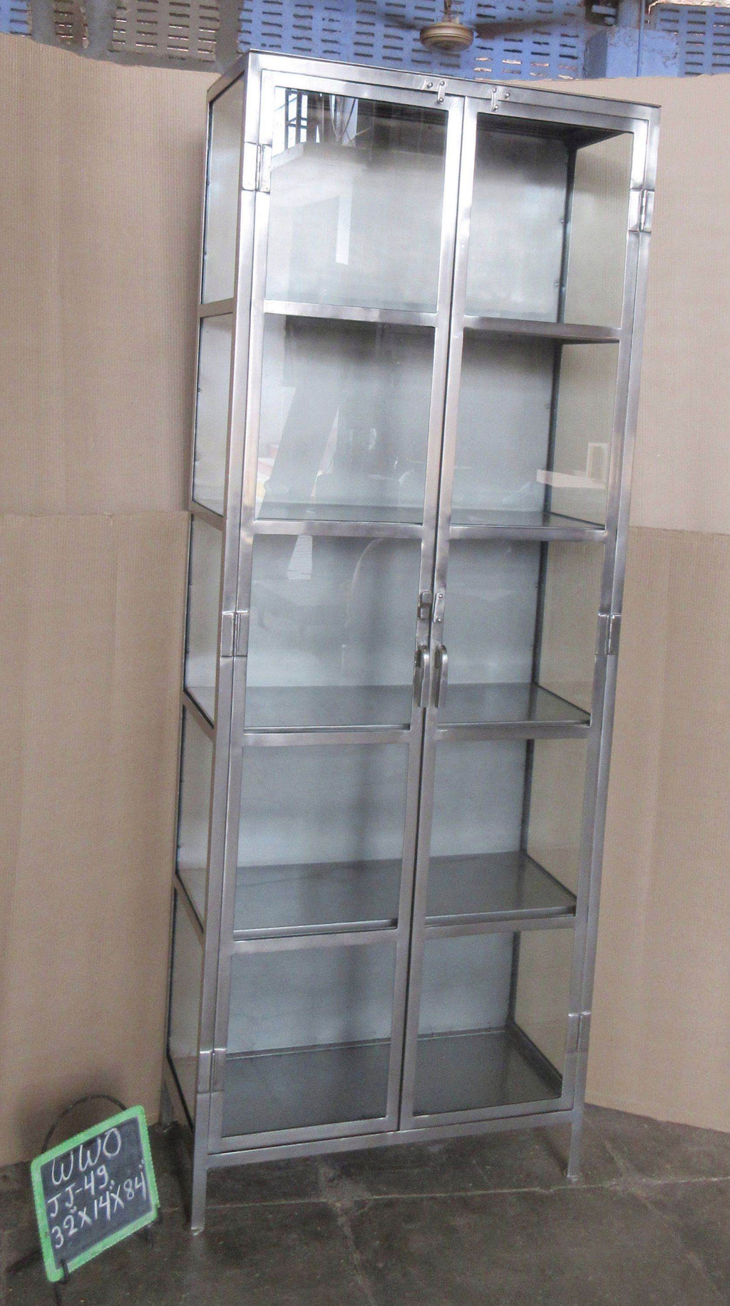 IRON + GLASS CABINET