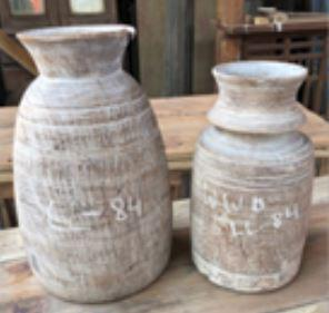 WOODEN POT ASSORTED