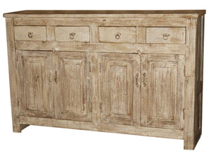 WOOD 4 DRAWERS CABINET