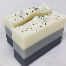 Load image into Gallery viewer, Black Amber + Musk Artisan Soap