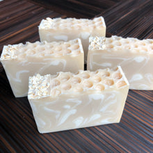 Load image into Gallery viewer, Oatmeal + Honey Artisan Soap
