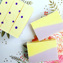 Load image into Gallery viewer, Lemon + Lavender Artisan Soap