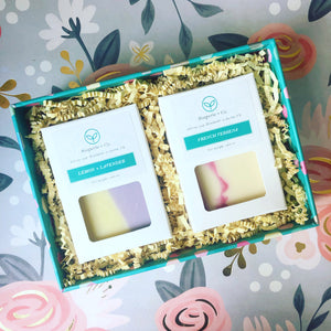 ADD ON ITEM: Gift Box for (2) Two Artisan Soaps