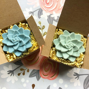 Succulent Shaped Artisan Soap