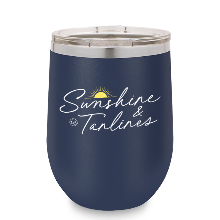 Sunshine and Tanlines Tumbler
