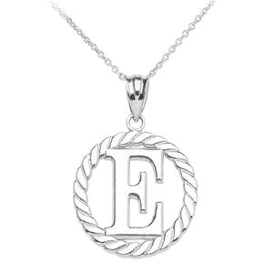 Jewel Tie 925 Sterling Silver with Gold-Toned University of New Orleans L Pendant in Circle