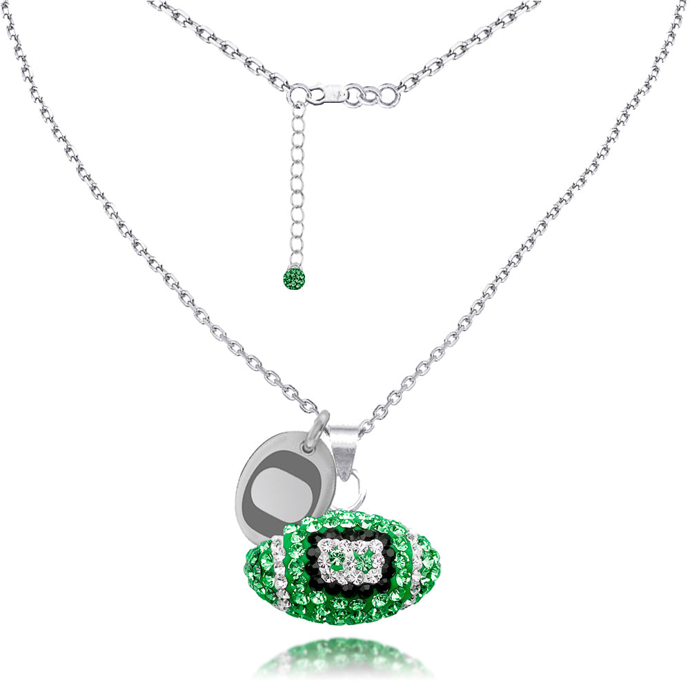 4YR Spirit Football Necklace - University of Oregon