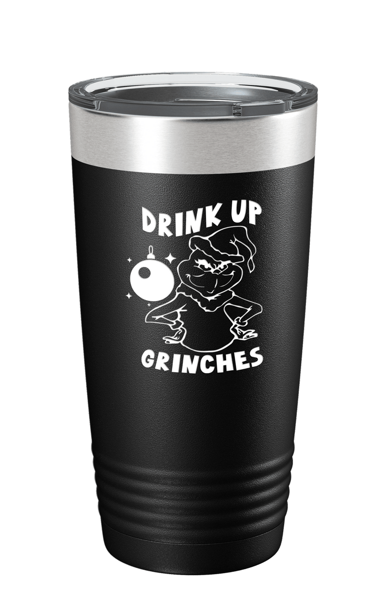 Drink Up Grinches Color Printed Tumbler