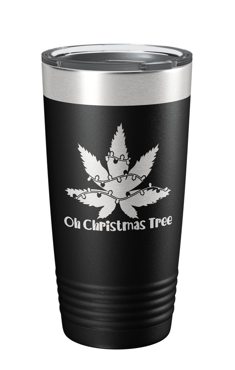 Oh Christmas Tree Laser Etched Tumbler