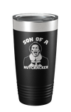 Son Of A Nutcracker Laser Etched Tumbler