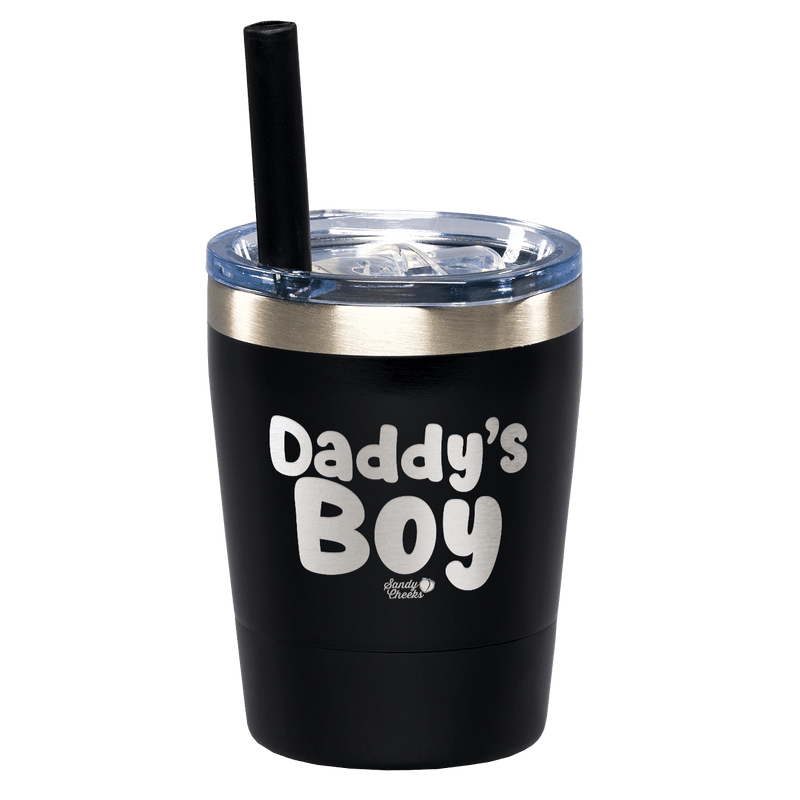 Daddy's Boy Laser Etched Kids Tumbler
