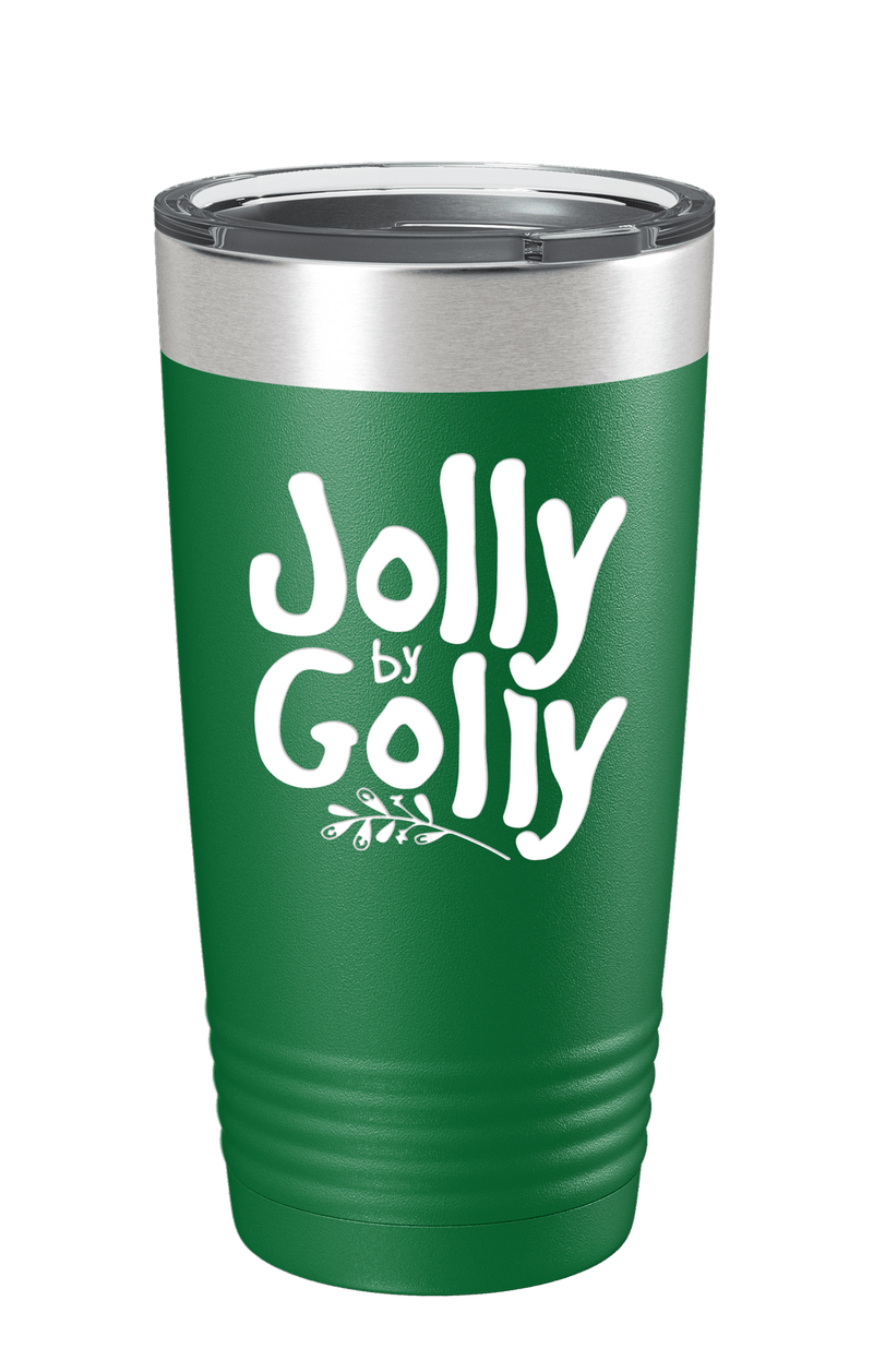 Jolly By Golly Color Printed Tumbler