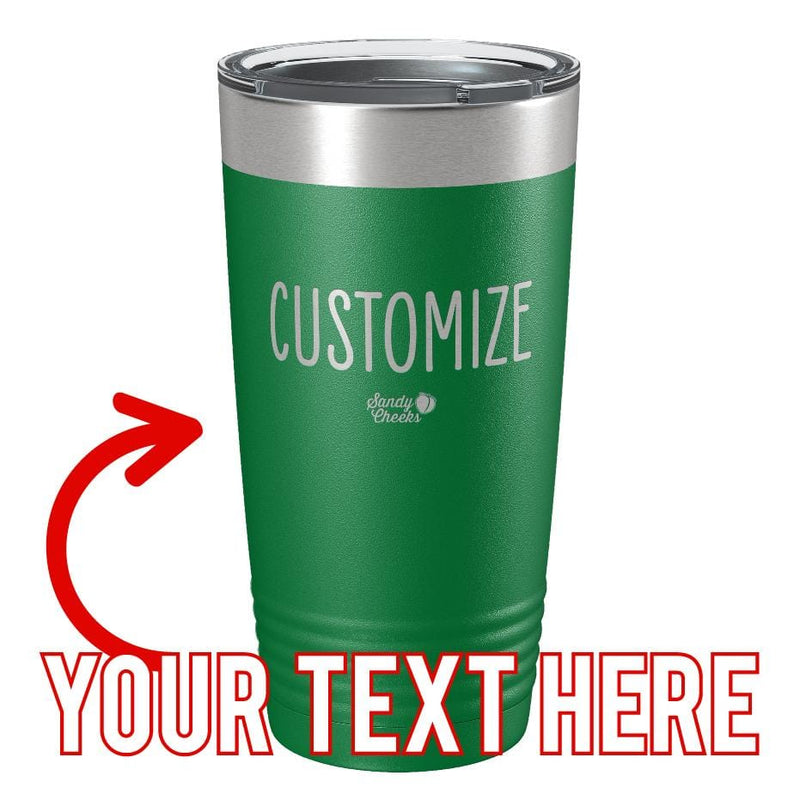 Personalized (CUSTOM)  Laser Etched Tumbler