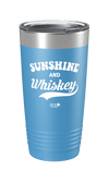 Sunshine & Whiskey Color Printed Tumbler