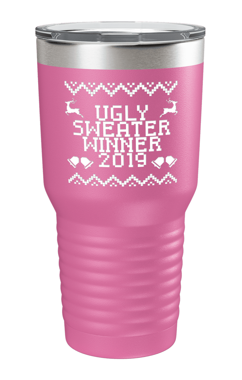 Ugly Sweater Winner 2019 Color Printed Tumbler
