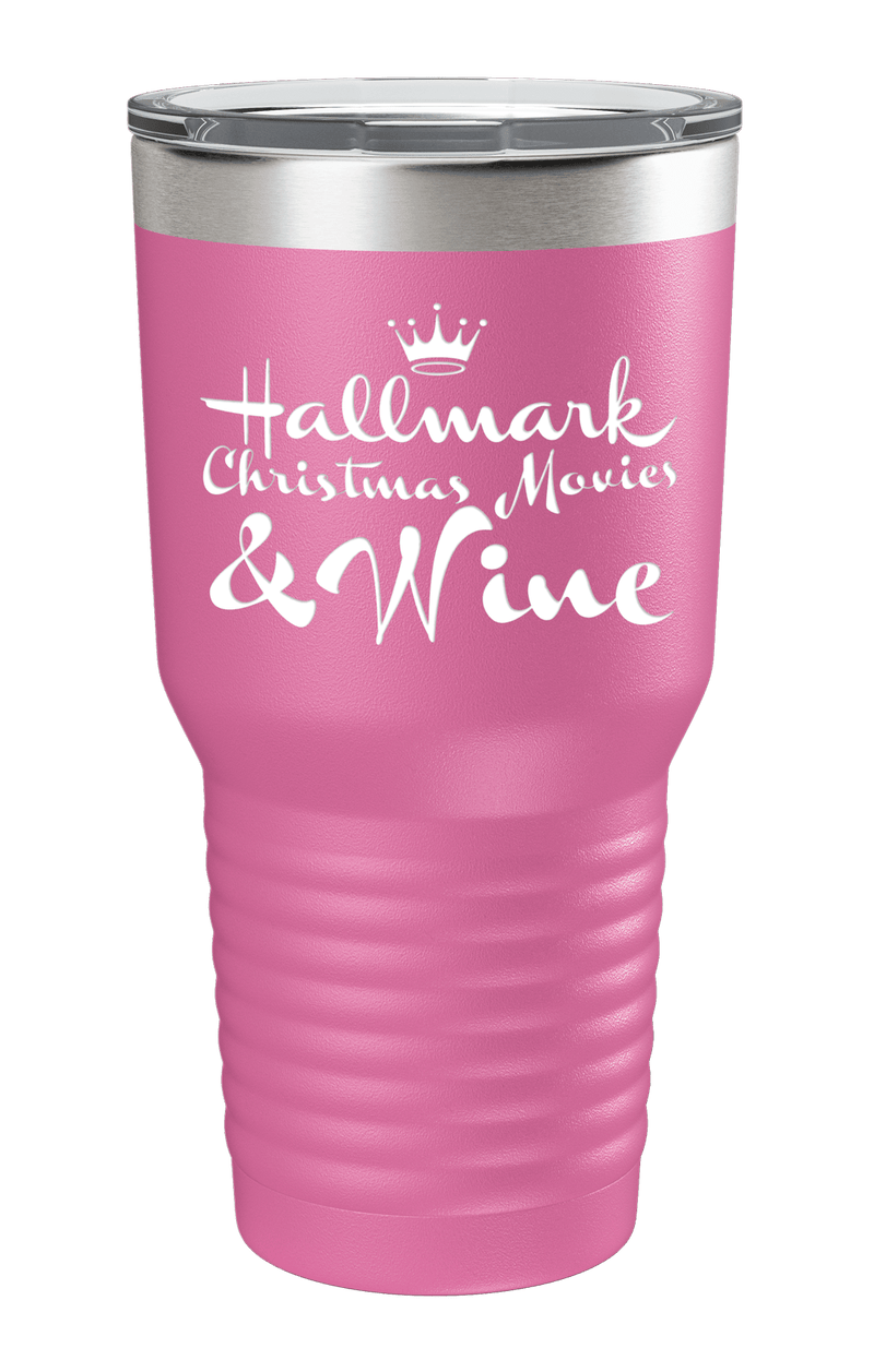 Rather Be Watching Hallmark Color Printed Tumbler