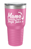 Mama Needs Her Jingle Juice Color Printed Tumbler