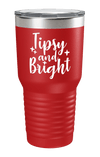 Tipsy And Bright Color Printed Tumbler